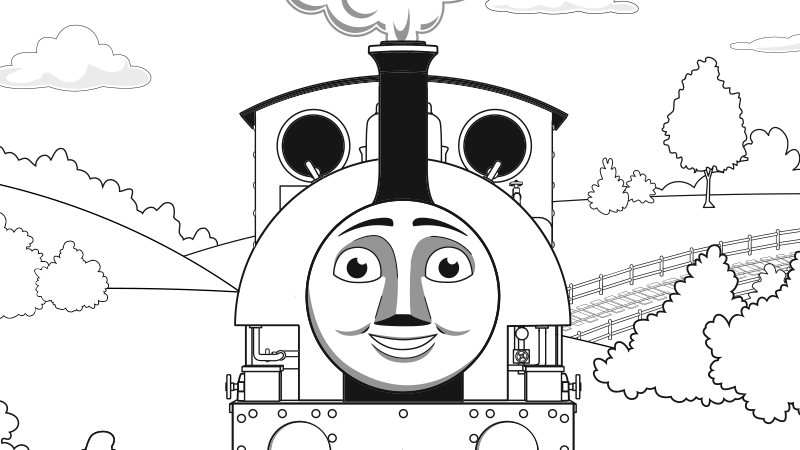 Thomas The Train Winter S For Kids Freeb5d4 Coloring Pages Printable | 450x800