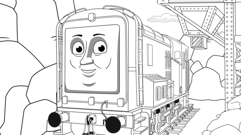 coloring pages thomas and friends | Play Thomas & Friends Games for Children | Thomas & Friends