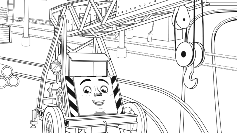 annie and clarabel coloring pages - photo#14