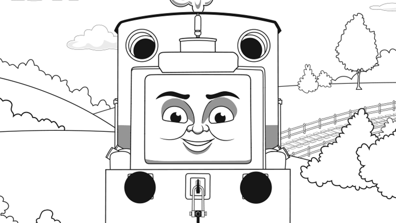 Thomas The Train Coloring Pages Emily - The Best Coloring Page 2017