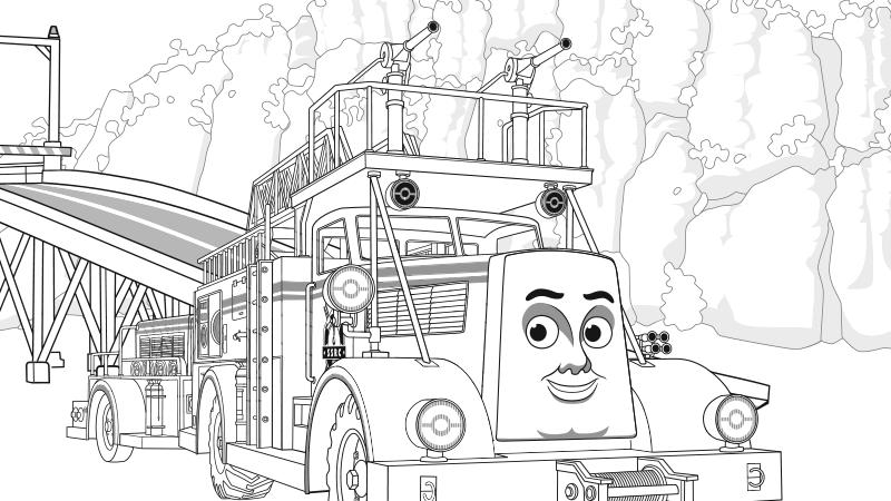 Juegos de thomas y sus amigos para ni os peque os thomas for Spencer the train coloring pages